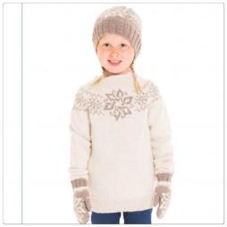 Snøfall jente genser